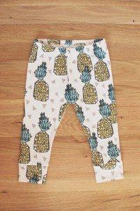 pineapple baby leggings