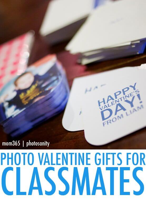 photo gifts for classmates Valentines Day