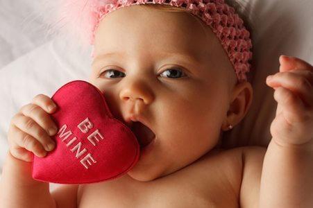 baby valentine's day