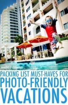 photo friendly packing list