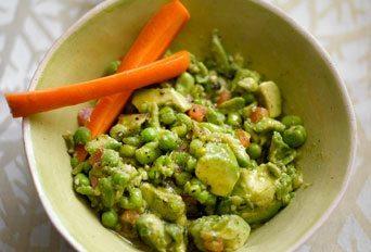 Pea, Broad Bean and Avocado Dip Recipe