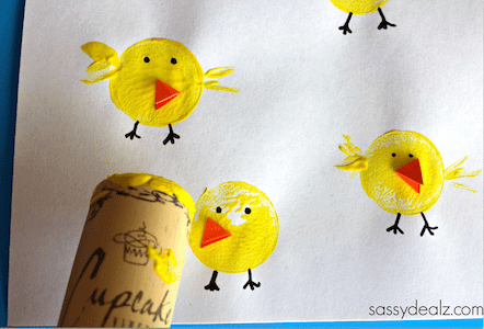 wine cork chicks