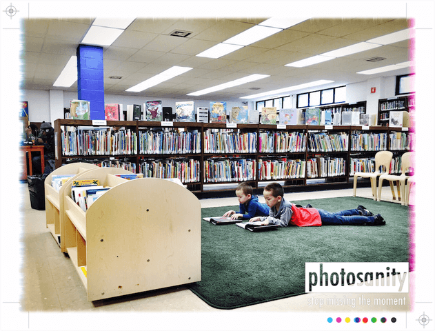 iphone photos brooklyn library