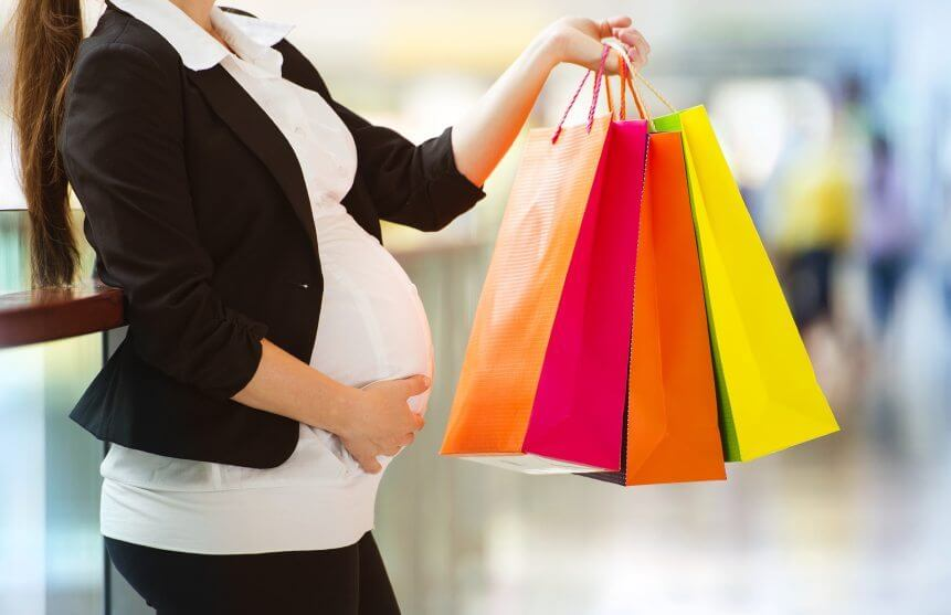 when to buy maternity clothing