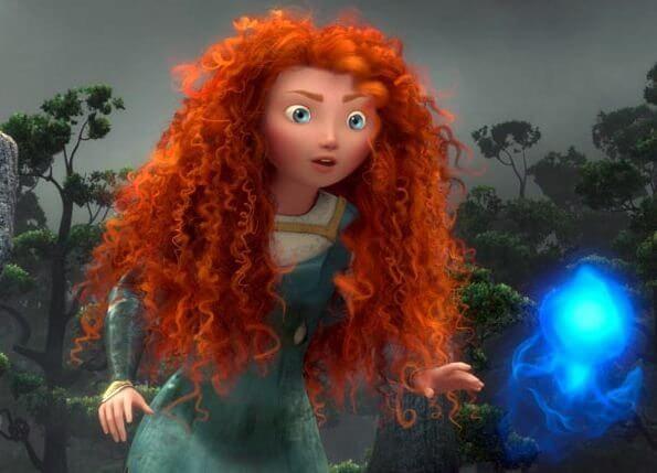 Merida from Brave film