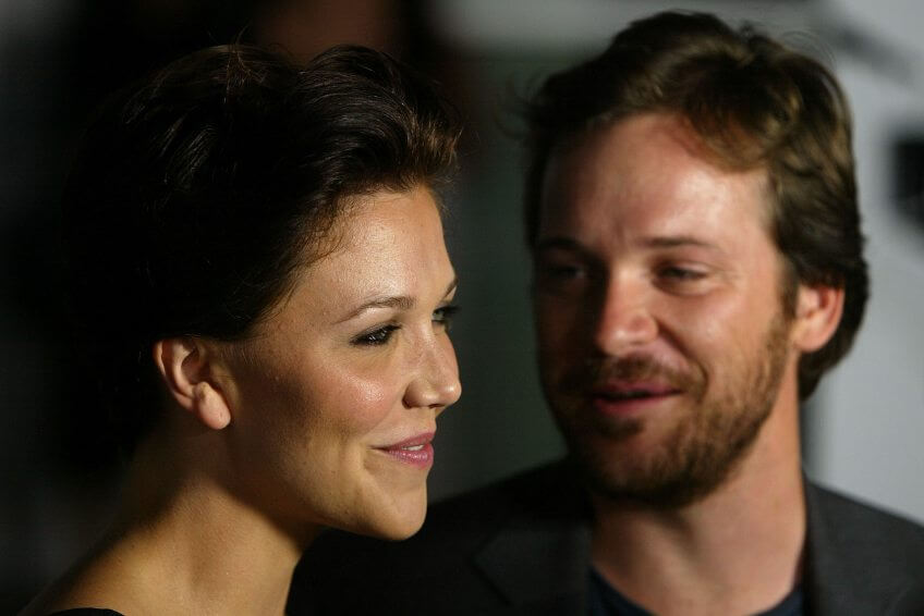 "Actress Maggie Gyllenhaal and Peter Sarsgaard attend the Warner Independent Pictures Premiere of ""Criminal"""