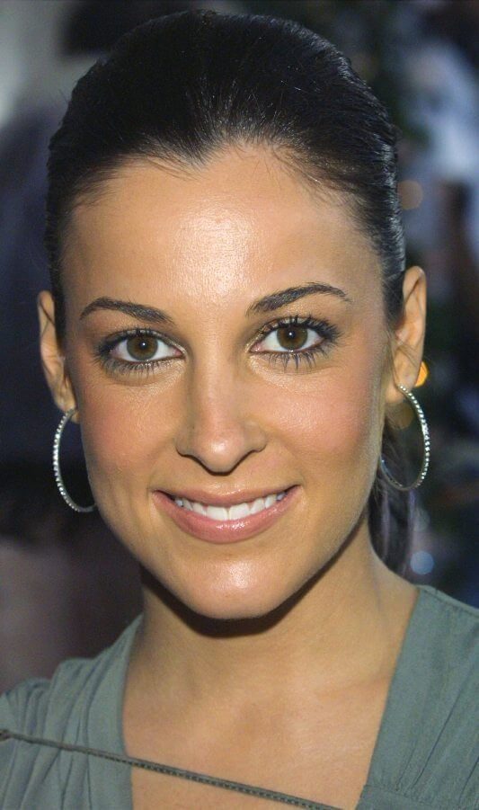 "Actress Lindsay Sloane attends the film premiere of ""The In Laws"""