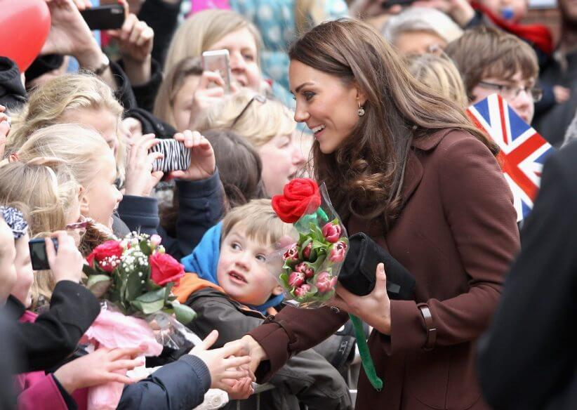 The Duchess Of Cambridge Visits Liverpool