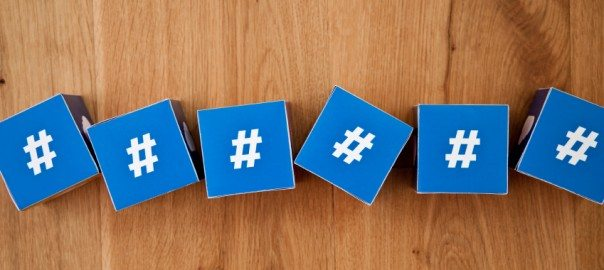 a link of hashtag blocks