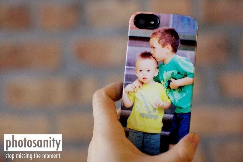 custom iphone case with children's photo