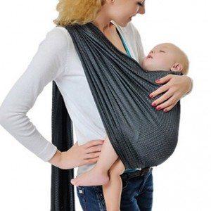 Vlokup Adjustable Baby Water Ring Sling Baby Carrier Infant Wrap