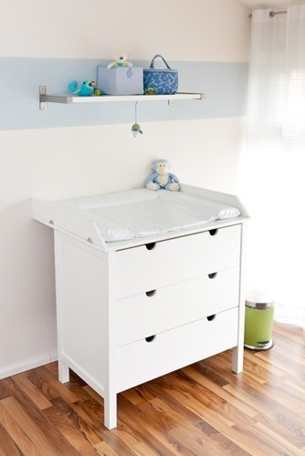 With extra storage and stability, a changing table can help simplify diaper duty for you and your spouse.