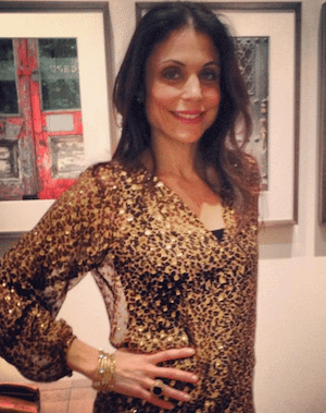 bethenny frankel poses for the camera