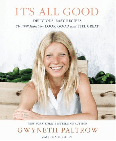 gwyneth paltrow its all good book