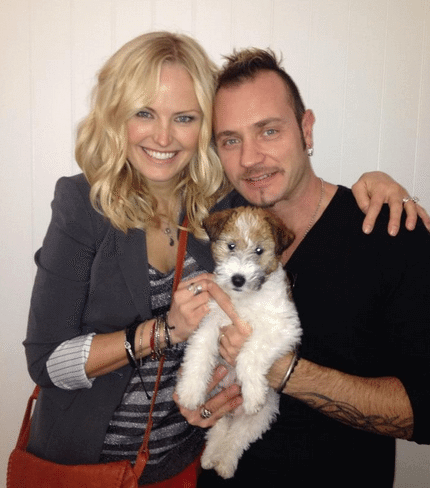 picture of malin akerman with her husband