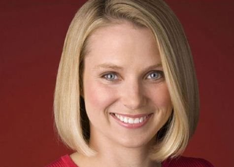Marissa Mayer Yahoo CEO Portrait