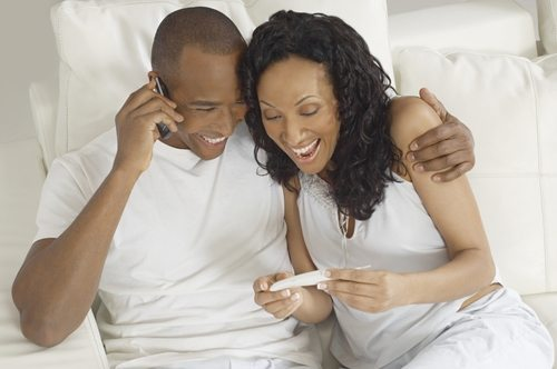 Finding out you're pregnant is an exciting yet intimidating time for you and your spouse.
