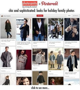 Pinterest screenshot with preppy clothing styles