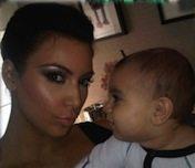 kim kardashian with baby mason