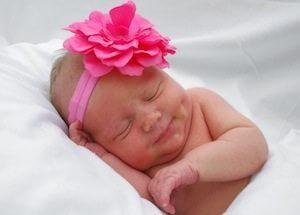 picture of newborn baby sleeping
