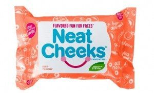 NeatCheeks Natural Peach Flavored Baby Wipes