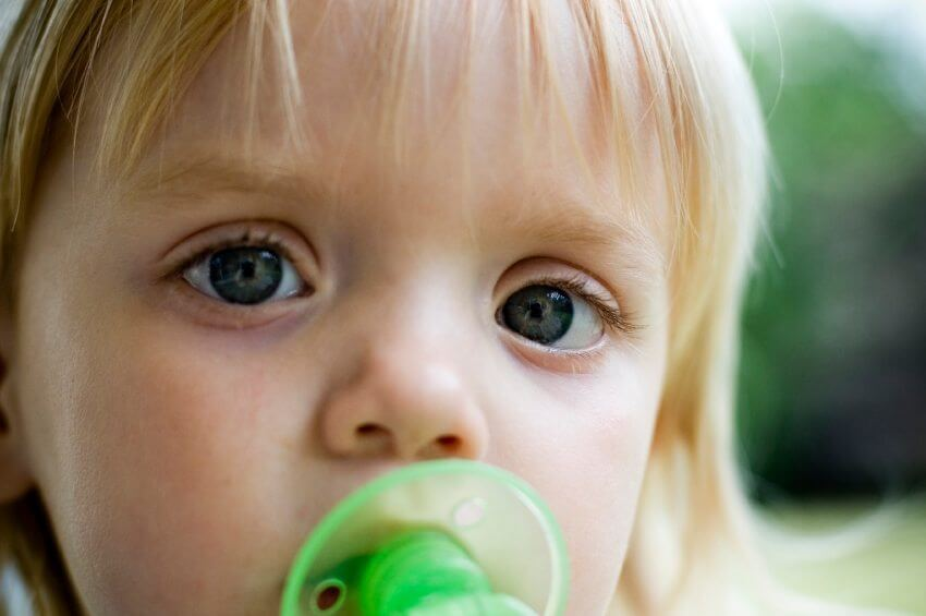 Does Your Toddler Still Use a Pacifier?