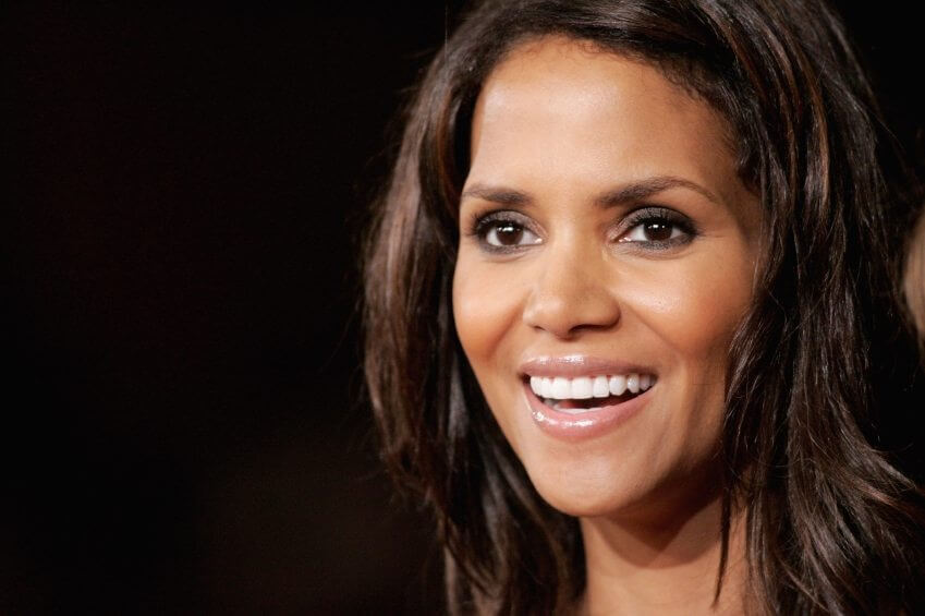 Halle Berry attends a movie premiere