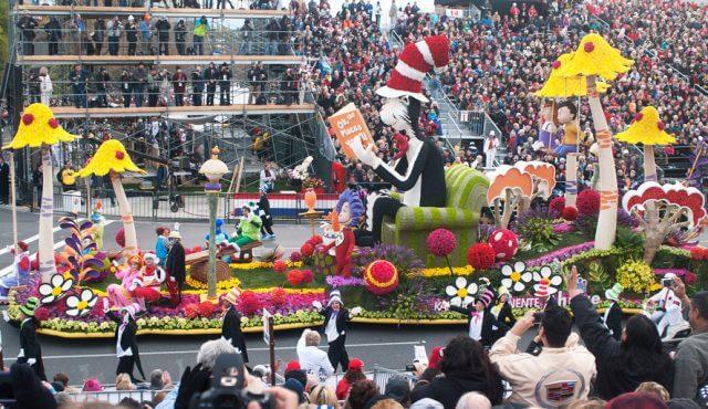 Dr. Seuss parade