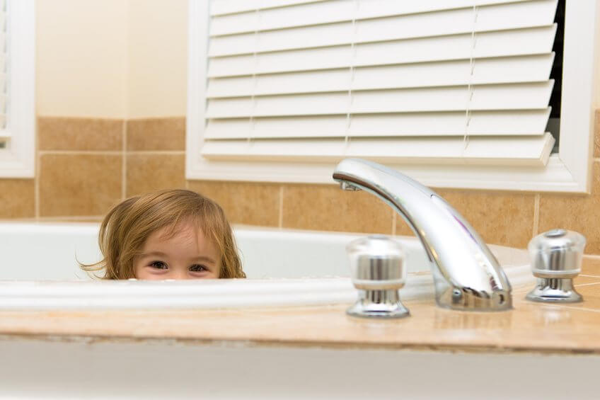 7 Ways to Childproof Your Bathroom