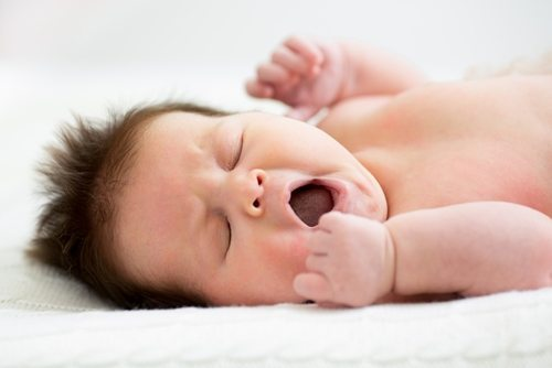 Sleep position is very important for newborns.