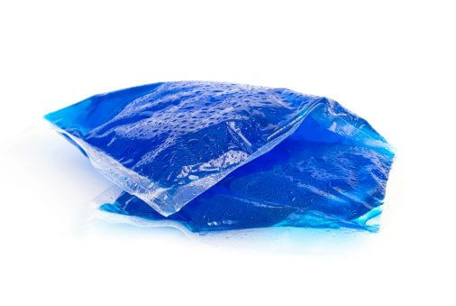 an ice pack