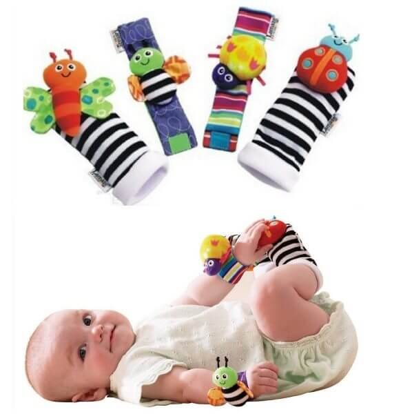 Lamaze Wrist Rattles and Foot Finders