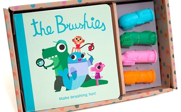 The Brushies Tooth Brush Puppets