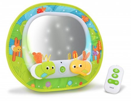Baby Einstein Music and Discovery Travel Mirror
