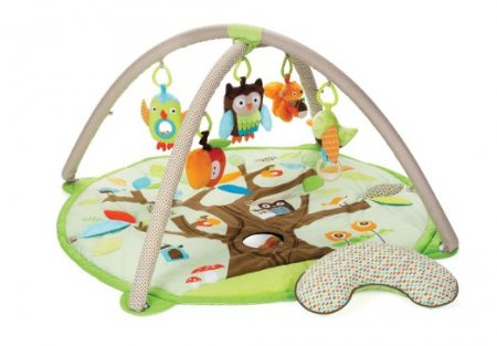 Skip Hop Baby Infant and Toddler Treetop Friends Activity Gym and Playmat