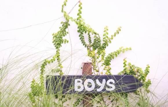 a boys bathroom