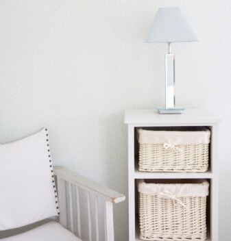 Canvas Chair And Storage Unit