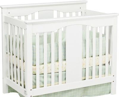 a mini baby crib