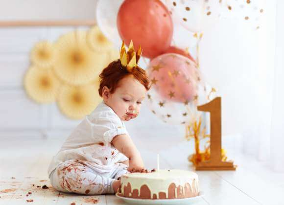Nine Great Themes for a First Birthday Party