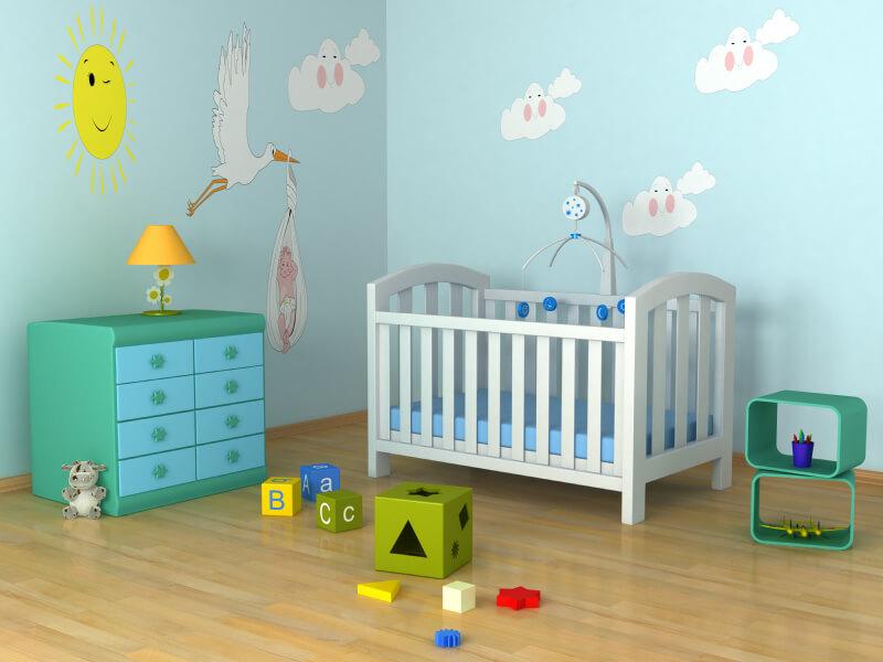 a baby's nursery