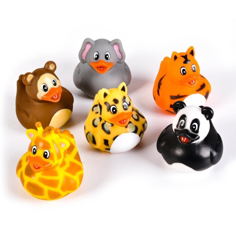zoo animal bath toys
