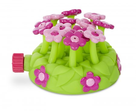 Melissa & Doug Sunny Patch Pretty Petals Flower Sprinkler Toy
