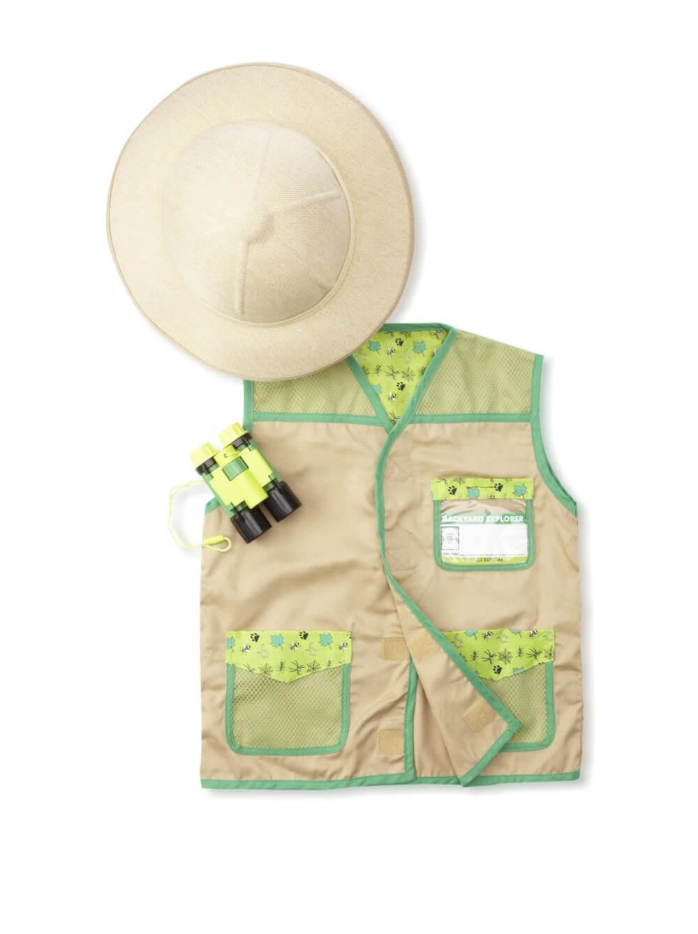 Doug Backyard Explorer Costume