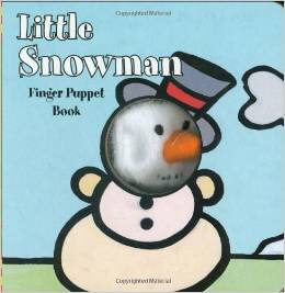 little snowman board book