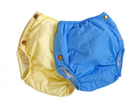 the cloth diapers