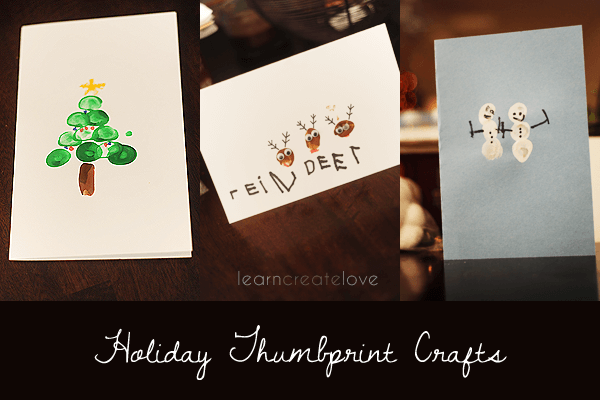 Holiday Thumbprint Craft
