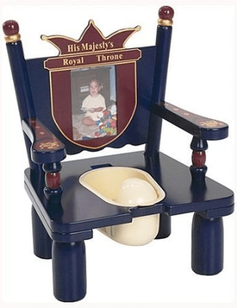 His Majesty's Throne Potty Chair