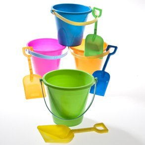 toy bucket and spades