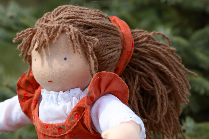 a girl rag doll