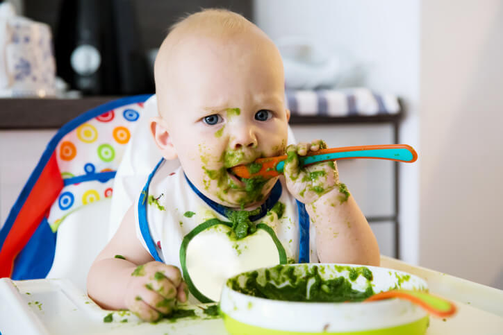 Baby's first solid food